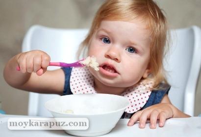 Питание ребенка в год: список продуктов
