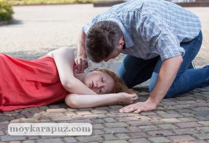 Девушка потеряла сознание